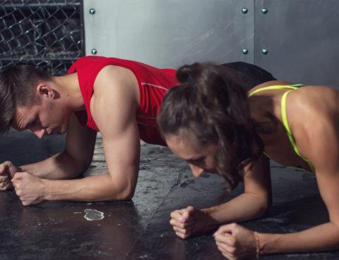 3 min intense core workout